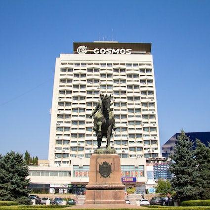 Hotel Cosmos, el patrimonio de la URSS en el corazón de Chisinau