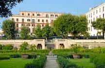 Tres jardines italianos de acceso abierto