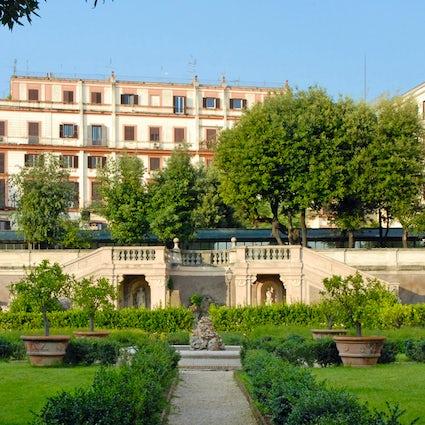 Trois jardins à l'italienne à accès libre