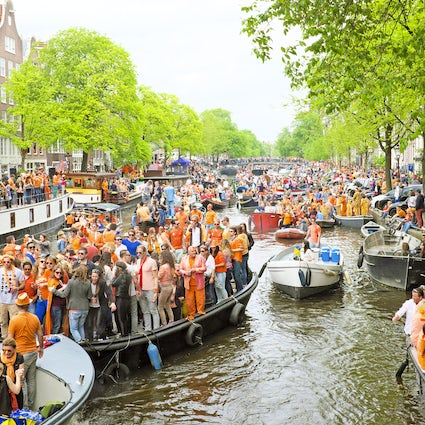 King's Day à Amsterdam
