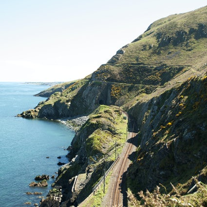 Walking the cliffs of County Wicklow