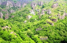 Khndzoresk- cave village in Armenia