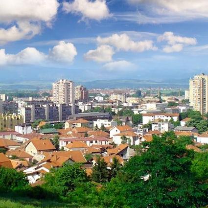 Leskovac, der Geburtsort von Pljeskavica