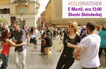 Celebrate Her Flash Mob - Tirana