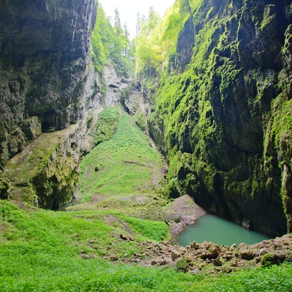 The Pearl of the Moravian Karst