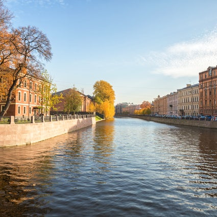 New Holland: the only artificial island of Saint Petersburg