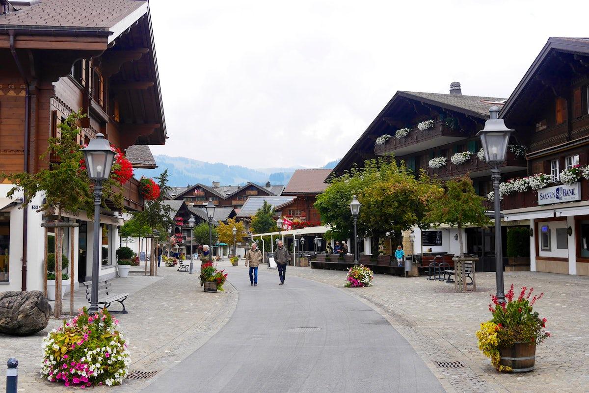 Villages of Obersimmental-Saanen district: Gstaad