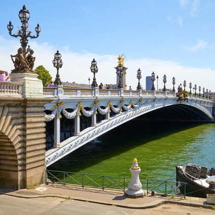 Iconic bridges in Paris: Invalides