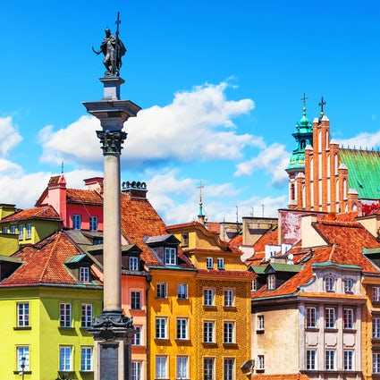 Discover the beauty of the Warsaw's Old Market Square