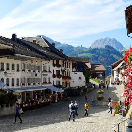 Gruyères: provavelmente a mais bonita aldeia suíça
