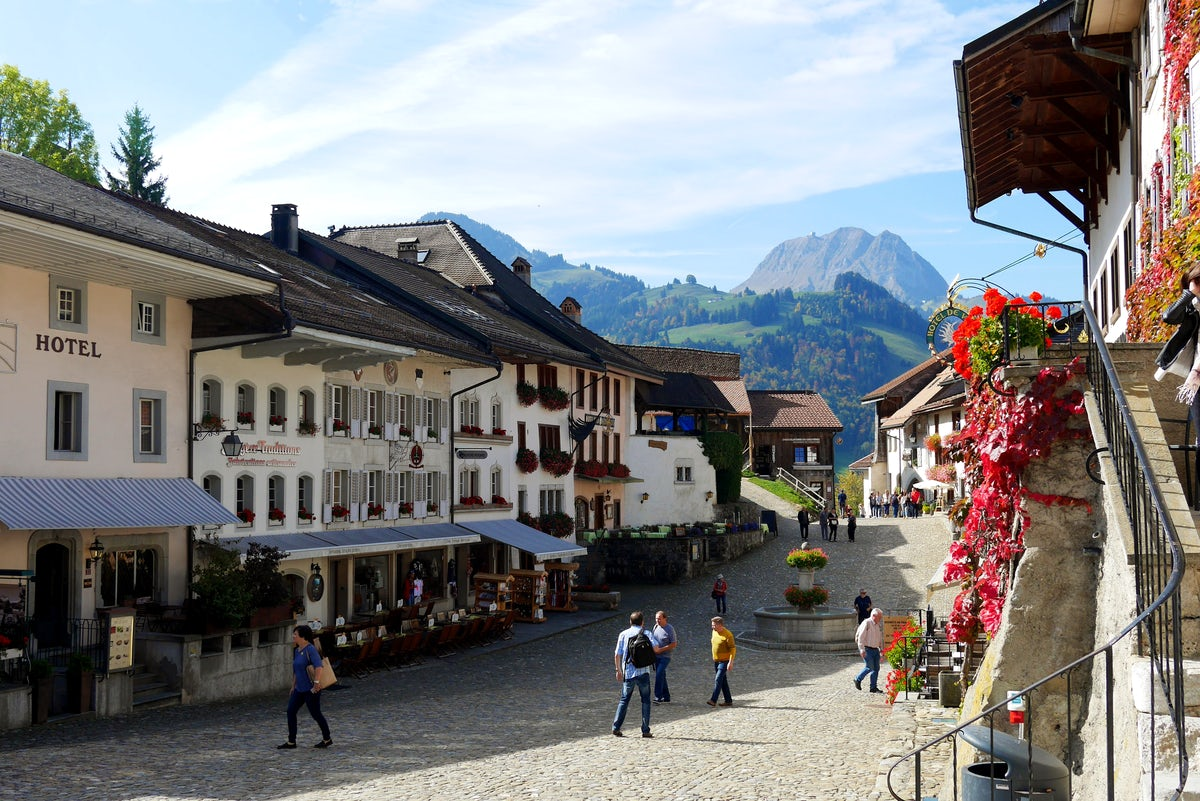 Gruyères: probably the prettiest Swiss village