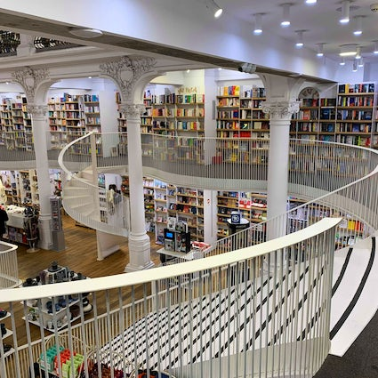 Cărtureşti Carousel Bookstore Bucharest, a wonderland of books