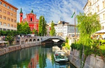 Ljubljana - City to fall in love with