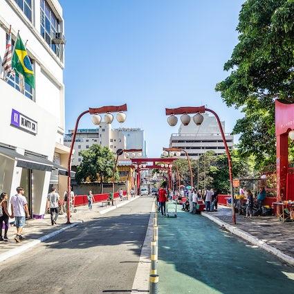 Experience the Japanese culture in São Paulo's,  Bairro da Liberdade
