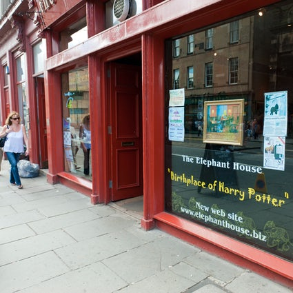 Edinburgh, home of Harry Potter