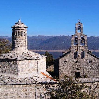 Dobrićevo, a salvaged 13th-century Orthodox monastery