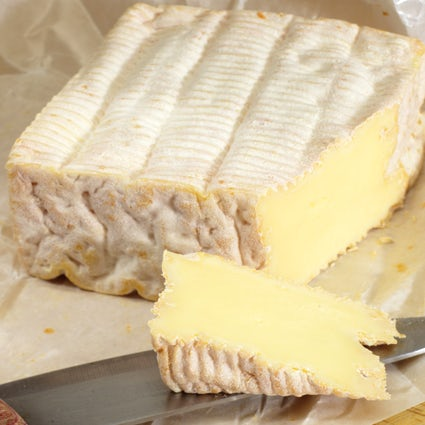Pont-l'Évêque, a creamy square-shaped cheese from Normandy