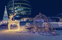 Winter pleasures in Nur-Sultan, world's second coolest capital