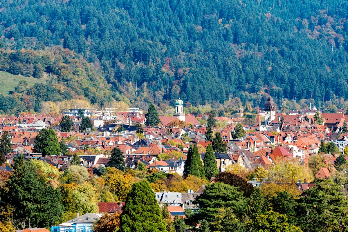 Surrounded by the Black Forest – Freiburg on black forest, zürich, lake constance,