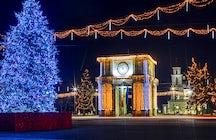 Neujahrstag in Chisinau: Was tun und wohin gehen?