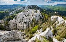 Hiking paths in Croatia: Velika Kapela