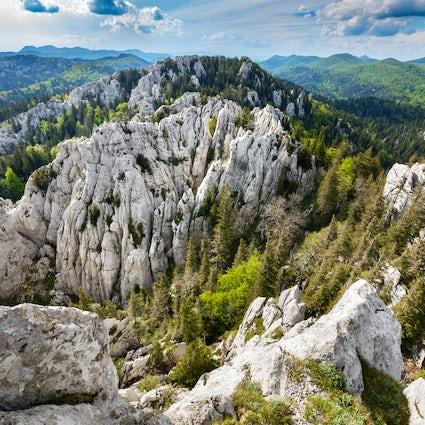 Senderos de senderismo en Croacia: Velika Kapela