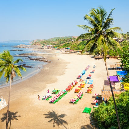 In and around Calangute Beach in Goa