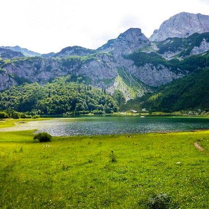 Acht Gletscherschönheiten - Zelengora-Seen