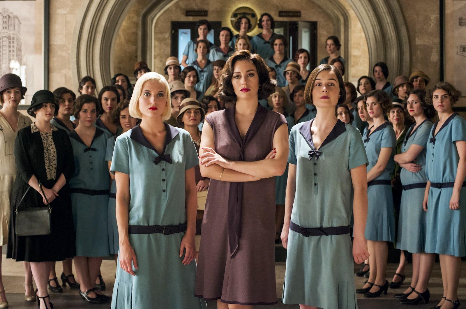 © Netflix/ Chicas de Cable