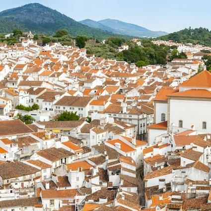 Castelo de Vide-Eine weiße, mittelalterliche Stadt im Alentejo