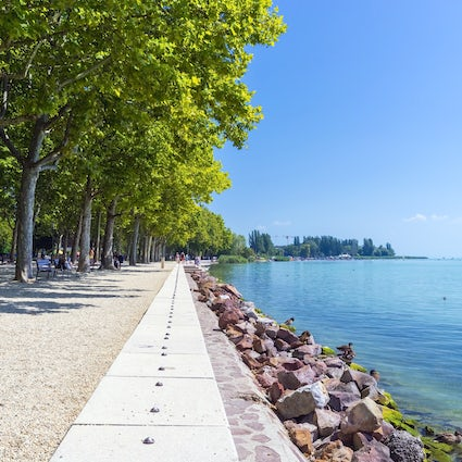 Pedal around Lake Balaton to your own beat