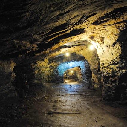 Through the gold mines of Ouro Preto, Brazil