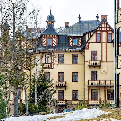 Berghüttenführer: Starý Smokovec in der Hohen Tatra