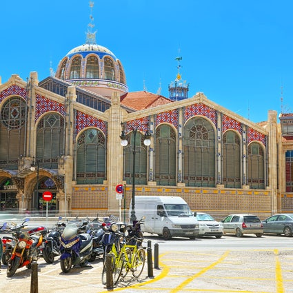Valencia's colourful Central Market