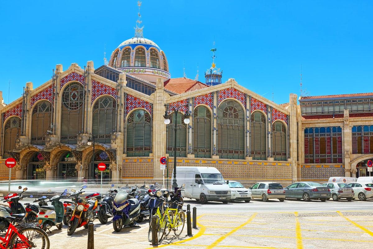 Valencia's colourful Central Market