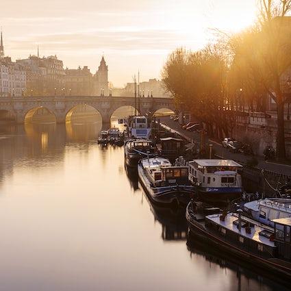 Iconic bridges in Paris: Pont Neuf