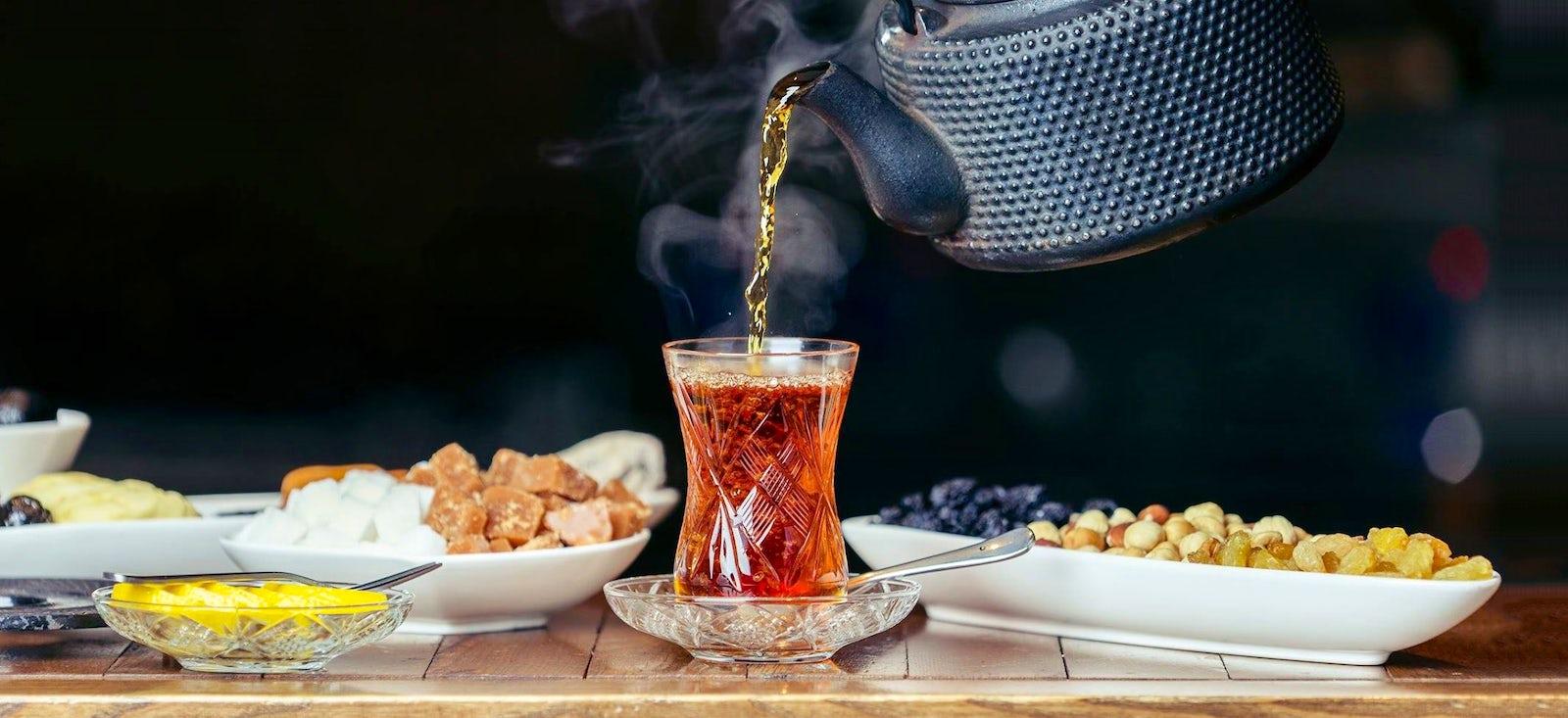 Traditional drink of Azerbaijan