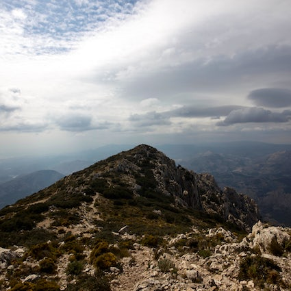 The magnificent mountain Puig Campana