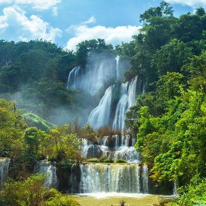 Thi Lo Su, la plus grande chute d'eau de Thaïlande