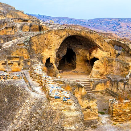 Uplistsikhe – the oldest cave town in Georgia