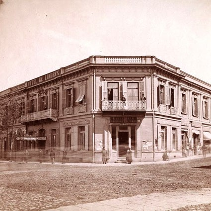 A century-old Hotel London in Tbilisi