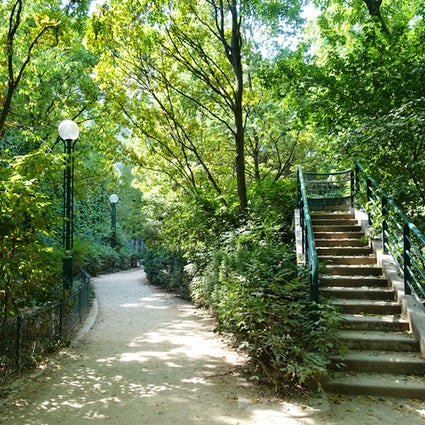 Parques y jardines en París: Coulée Verte