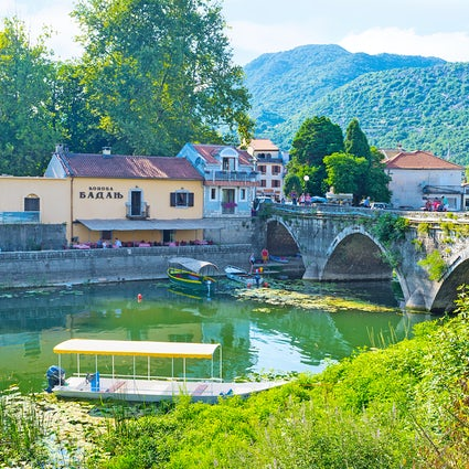 Virpazar - a lovely fisherman's village
