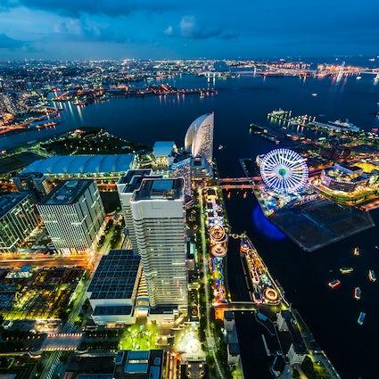 Yokohama: de modernste havenstad in de buurt van Tokio.