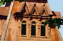 Russian wooden Art Nouveau in the provincial towns