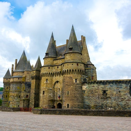 A fairy tale of the Château de Vitré