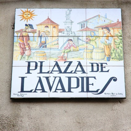 Lavapies; A fusion of arts & cultures.