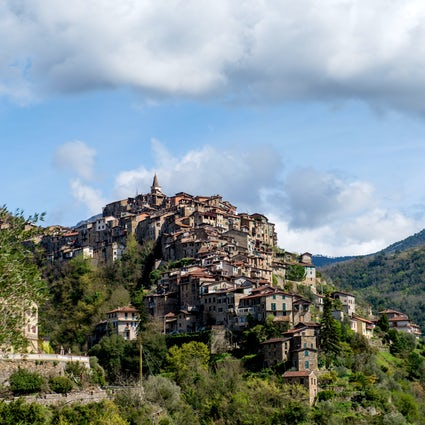 Apricale a hidden Ligurian village and its legend of the Boia