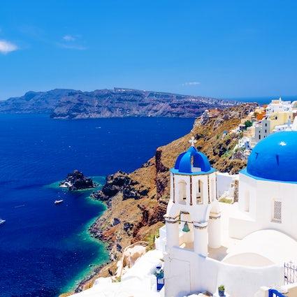 Explore Santorini y su belleza única