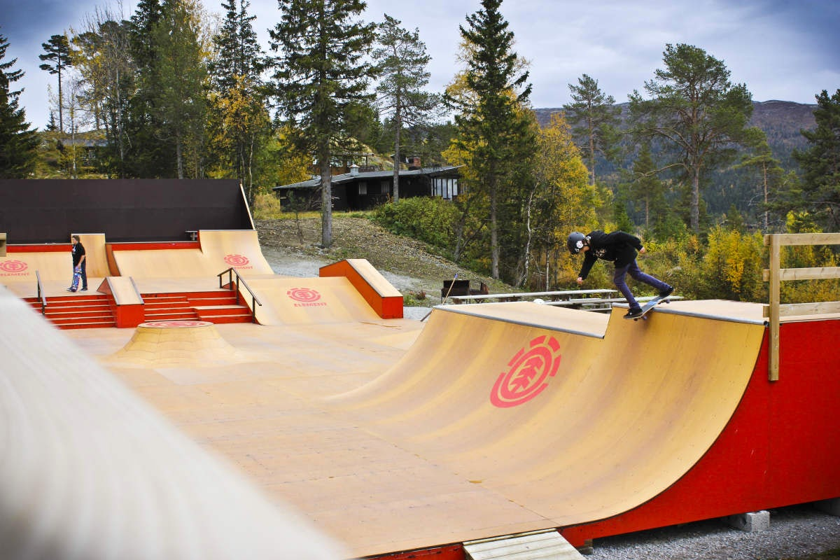 The first skate hotel ever!
